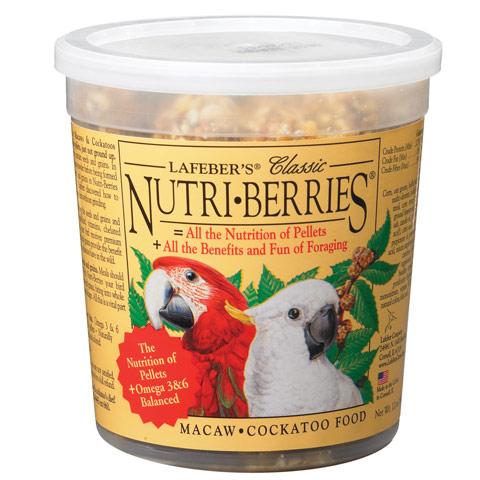 Nutri-Berries Macaw tub