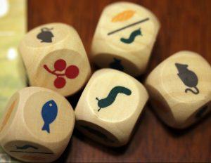 Wingspan game dice