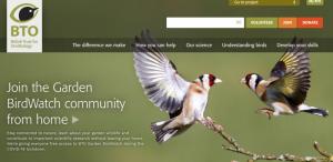 British Trust for Ornithology homepage