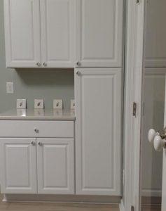 bird room cabinets