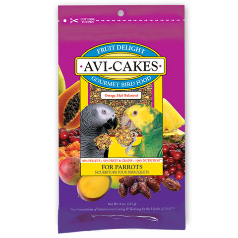 Fruit Delight Avi-Cakes Parrot