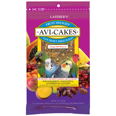 Fruit Delight Avi-Cakes small bird
