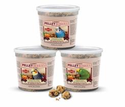 3 tubs of Pellet-Berries