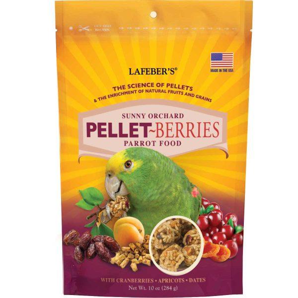 Pellet-Berries Parrot Food