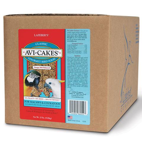 Macaw Avi-cakes