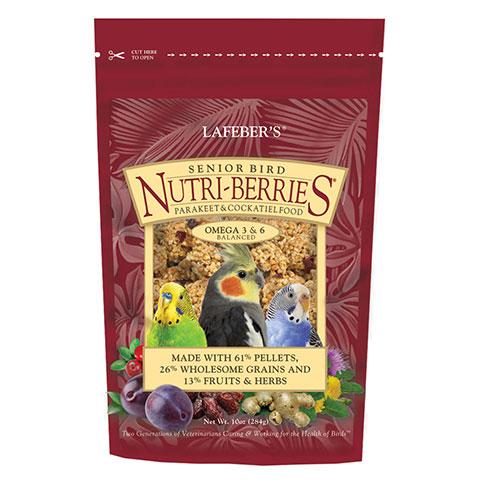 NutriBerries for senior Cockatiels