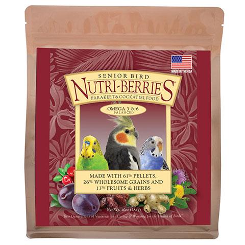 Nutri-berries for senior Cockatiels