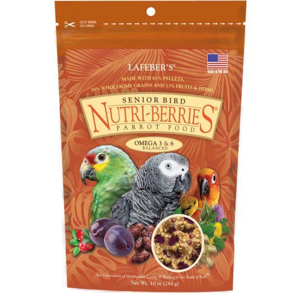 Senior Nutri-Berries Parrot Food