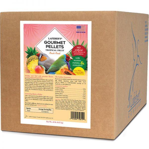 20lb Tropical Fruit Pellets Finch