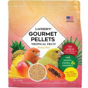 Canary Tropical Fruit Pellets 4lb