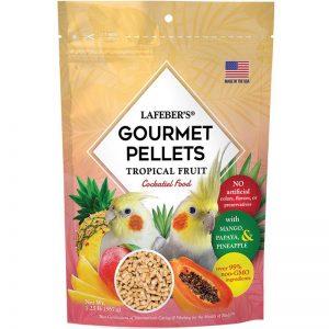 Cockatiel Tropical Fruit Gourmet Pellets 1.25 lbs