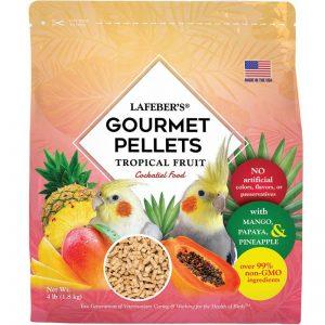 Cockatiel Tropical Fruit Gourmet Pellets 4 lbs