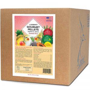 Cockatiel Tropical Fruit Gourmet Pellets 25 lb