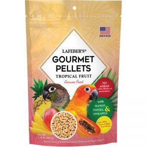 Conure Tropical Fruit Gourmet Pellets 1.25 lbs