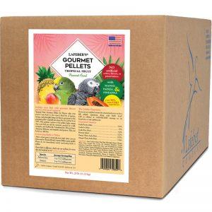 Parrot Tropical Fruit Gourmet Pellets 25 lb