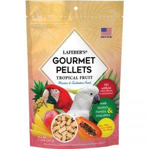 Macaw Tropical Fruit Gourmet Pellets 1.25 lbs