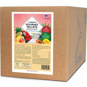 Macaw Tropical Fruit Gourmet Pellets 25 lb