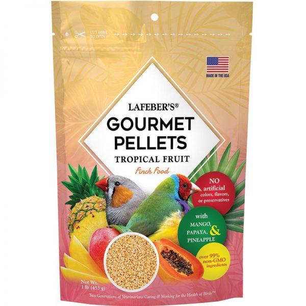 Tropical Fruit Pellets Finch