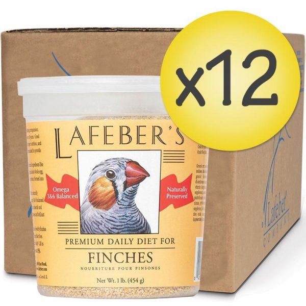 Case of 12 Finch Granules 1 lb