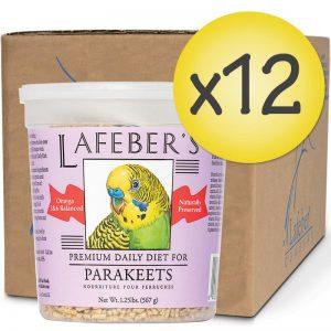 Case of 12 Parakeet Pellets 1.25lb