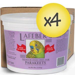 Case of 4 Parakeet Pellets 5lb