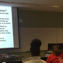 North Carolina State University College of Veterinary Medicine Parrot Behavior Wetlab, led by Phoenix Landing.