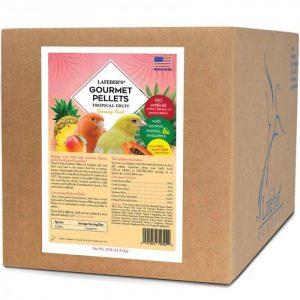 Canary Tropical Fruit Gourmet Pellets 25 lb (11 kg)