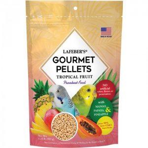 Parakeet Tropical Fruit Gourmet Pellets 1.25 lbs (567 g)