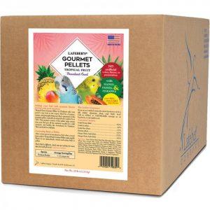 Parakeet Tropical Fruit Gourmet Pellets 25 lb (11 kg)