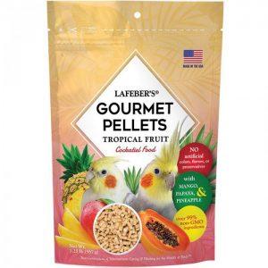 Cockatiel Tropical Fruit Gourmet Pellets 1.25 lbs (567 g)
