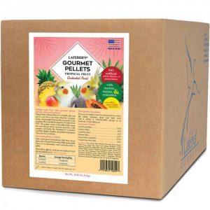 Cockatiel Tropical Fruit Gourmet Pellets 25 lb (11 kg)