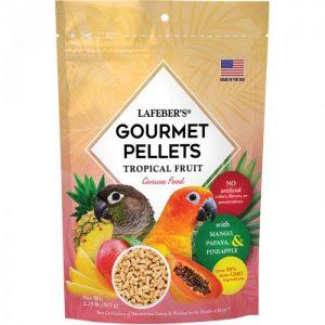 Conure Tropical Fruit Gourmet Pellets 1.25 lbs (567 g)