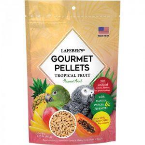 Parrot Tropical Fruit Gourmet Pellets 1.25 lbs (567 g)