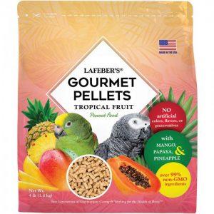Parrot Tropical Fruit Gourmet Pellets 4 lbs (1.8 kg)