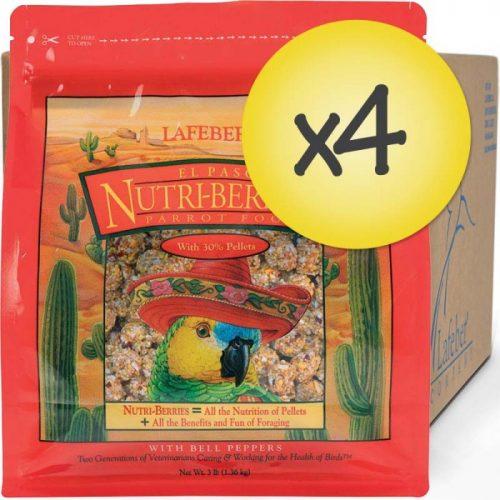 case of 4 El Paso Nutriberries