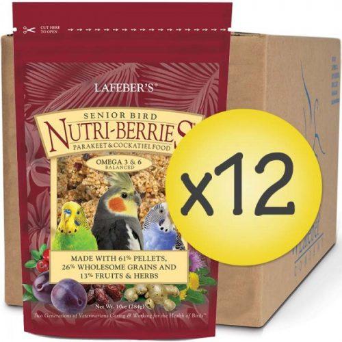 Case of 12 Senior Bird Nutri-Berries for Cockatiel 10oz