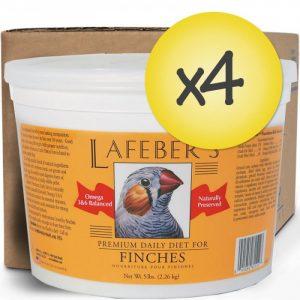 Case of 4 Finch Granules 5 lb (2.26 kg)