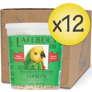 Case of 12 Parrot Pellets 1.25 lb (567 g)