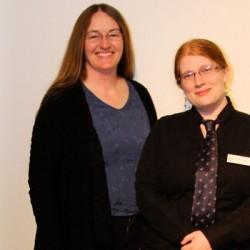 Dr. Rebecca Duerr, Stephanie Jolitz, Western University Lafeber Company Student Representative