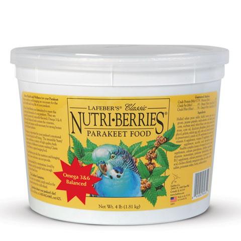 Nutri-Berries para Periquitos