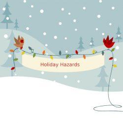 holiday banner hazards