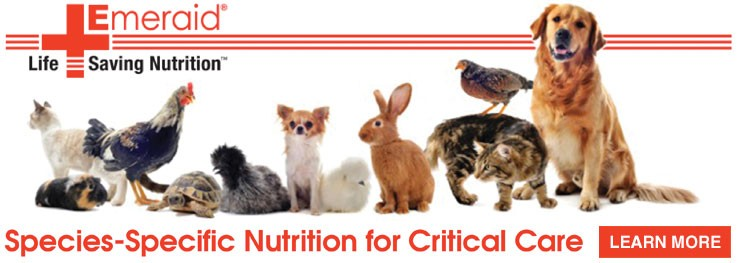 Emeraid: Species specific nutrition for Critical care