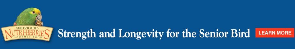 Strength and longevity for the Senior Bird