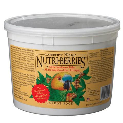 Nutri-Berries para Loros