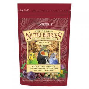 Senior Bird Nutri-Berries for Cockatiel 10oz