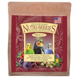 Senior Bird Nutri-Berries for Cockatiel 3lb