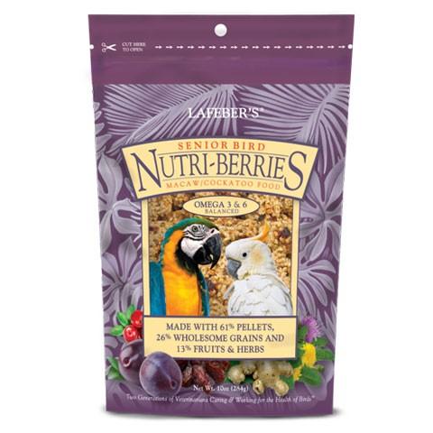 Oiseau Senior Nutri-Berries pour Aras et Cacatoès