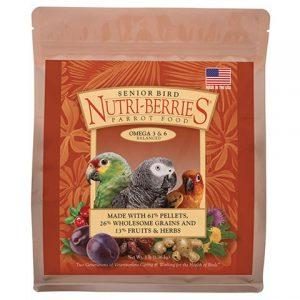 Senior Nutri Berries for Parrot 3 lb