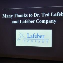 Dr. Rich's concluding slide