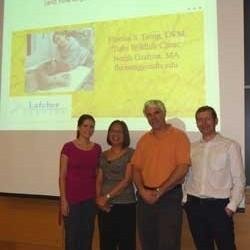 Dr. Florina Tseng, Shannon Marie Vicario, Dr. Jamie Morrisey, and Dr. Ricardo de Matos